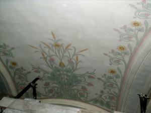 Restitution d'un décor peint