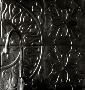 décor métallique pour mur. décoration murale
