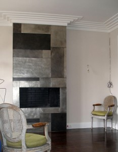Décor métal par décorateur d'intérieur