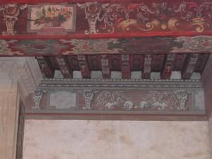 Décors sur bois.restauration de décors peints