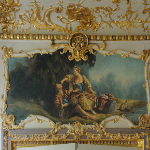 Pour le compte de l'entreprise arcoa , restitution de peinture figurative