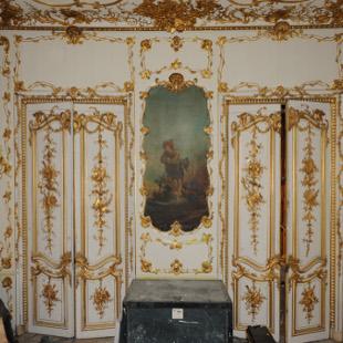 Restaurateur de peinture murale restitution de deux for La peinture murale