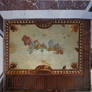 Restitution de d�cors pour l 'atelier arcoa Hotel de La Salle;