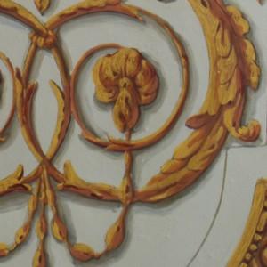 décor peint détail