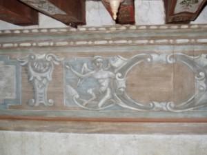 Décors peints, restitution par C.GABRIEL pour Arcoa