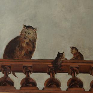 restitution pour l'atelier arcoa Chat et chatons