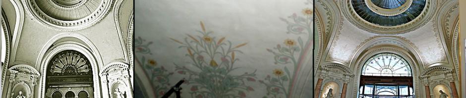 restaurateur_peintures_murales_restitution_creation_décor_art_nouveau
