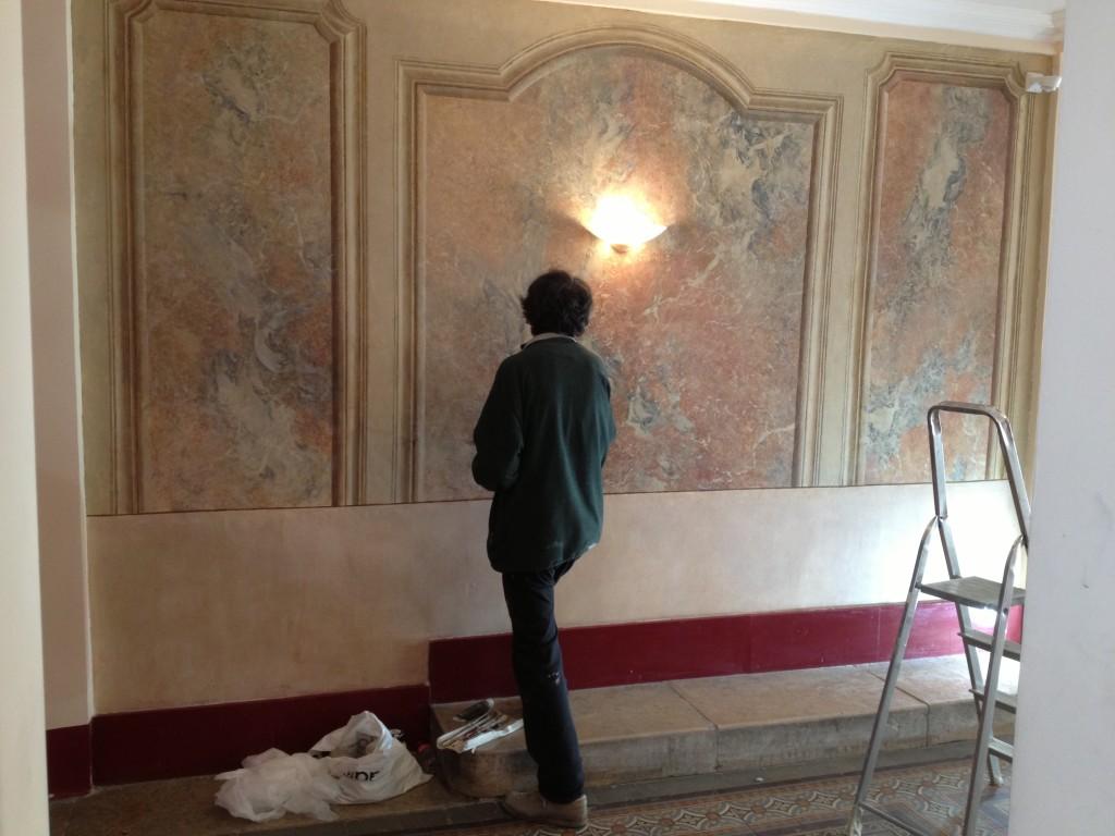 Restaurateur de décors peints,Paris