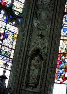 décor peint chapelle Chambery,restaurateur