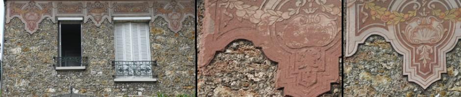 Décor peint mural / restauration