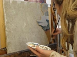 stage de peinture fresque