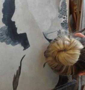 fresque pigment