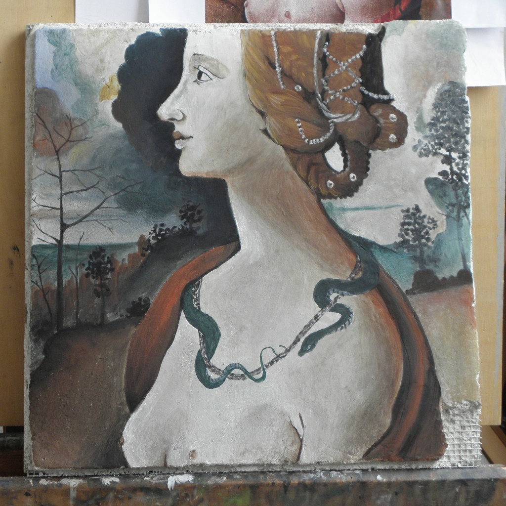 peinture à fresco