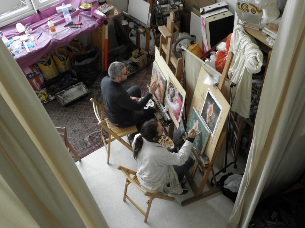 Atelier de formation à la fresque