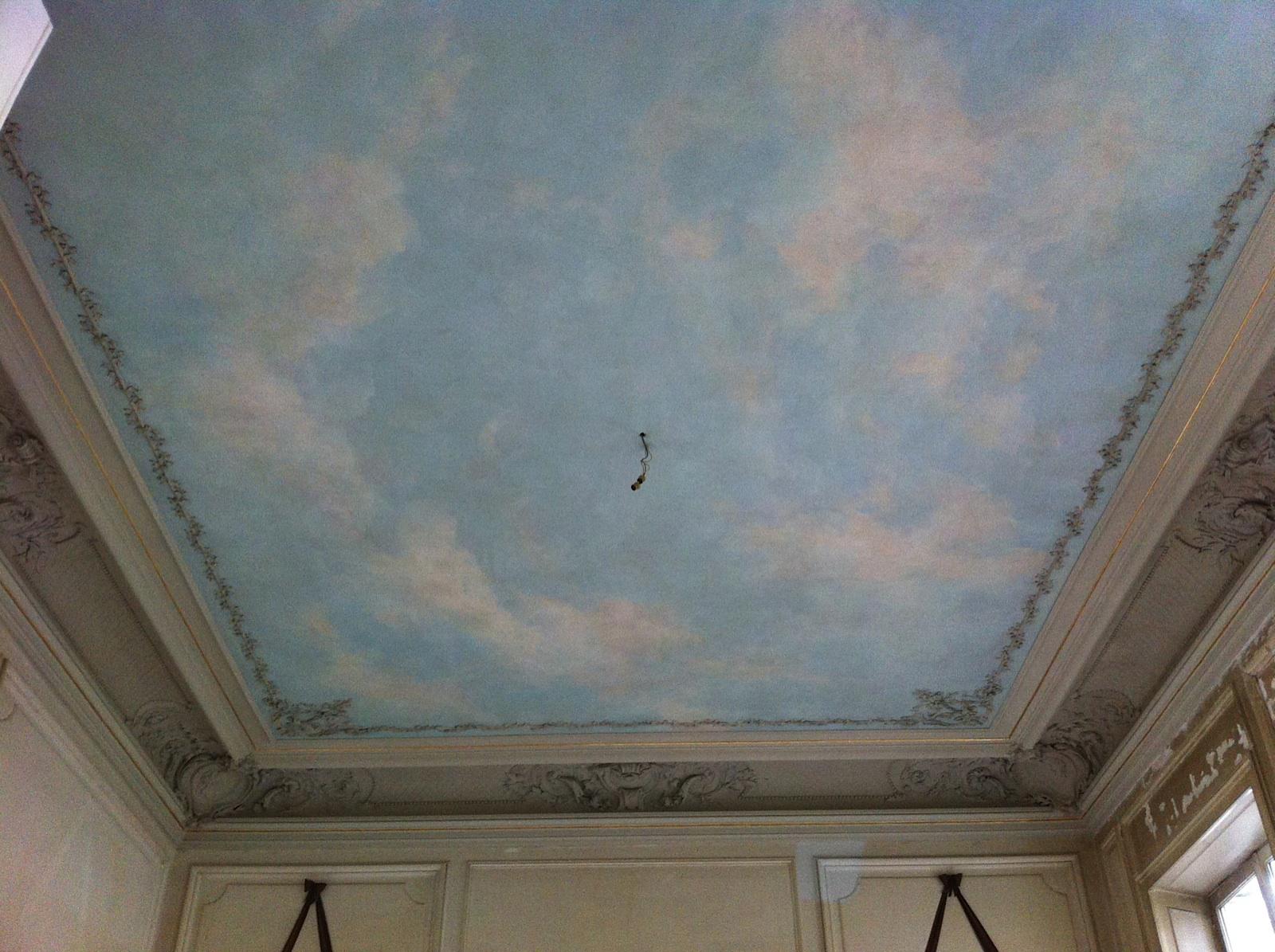 Ciel En Trompe L Il Plafond Cr Ation Restauration De Peintures