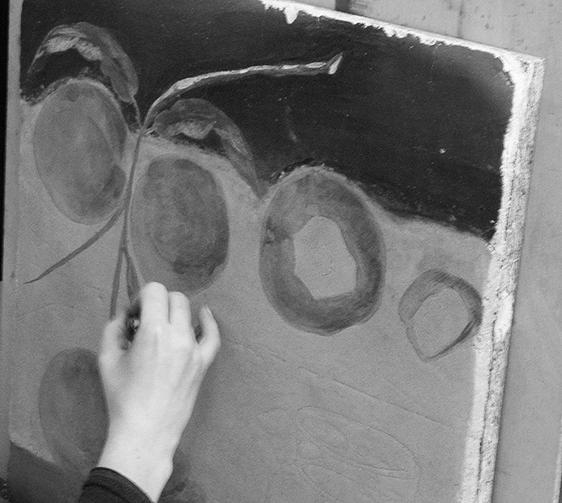 Stage de peinture murale à la fresque