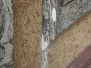 Restaurateur de faux marbre. Rénovation et restauration