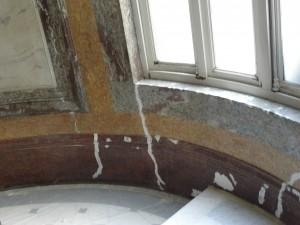 Restaurateur à Paris de faux marbres Stuc marbres