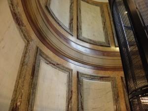 Rénovation restauration de faux marbres Paris
