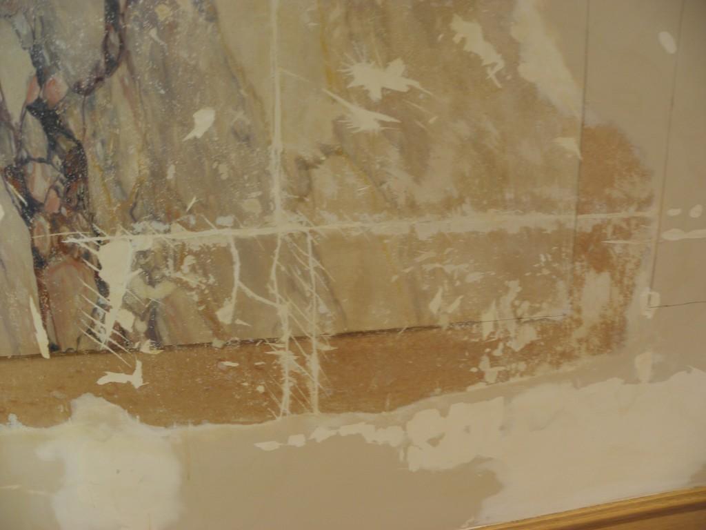 Restauration Faux marbres