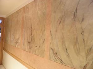 Faux marbres décoration